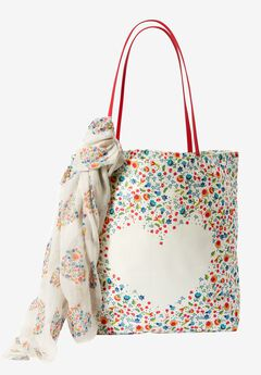 Tote and Scarf Set,