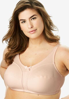 Cotton Wireless Bra by Comfort Choice®, NUDE