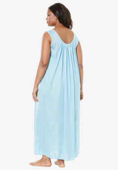 Long Tricot Knit Nightgown by Only Necessities® 6e0711553