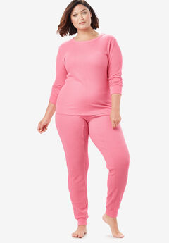 Thermal Lounge Pant by Comfort Choice®, DAZZLING PINK