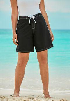 Contrast-Trim Long Boardshort,