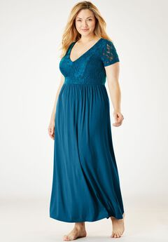 Lace Bodice Sleep Gown by Amoureuse®,
