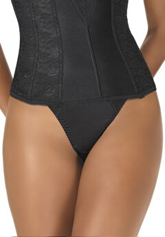 Seamless thong by Dominique™, BLACK
