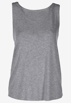 Solid knit tank top by Ellos®,