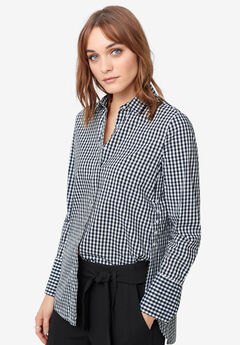 Side-Button Shirt by ellos®,