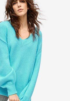 Blouson Sleeve Pullover by ellos®,