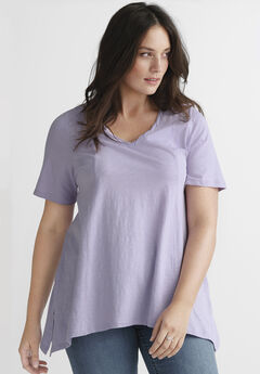 Point-hem Tee by ellos®,