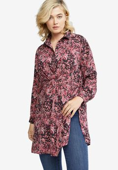 Gathered Empire Tunic by ellos®,