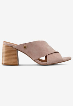 Slip-On Block Heel Sandals by ellos®,