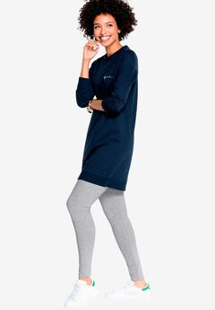 Leggings by ellos®, HEATHER GREY