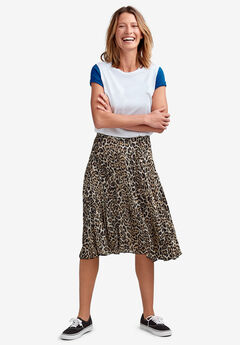 Soft Pleated Skirt by ellos®,