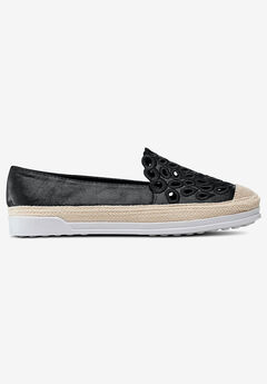 Cut-Out Slip-On Flats,