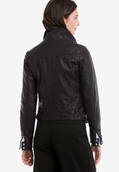 eb7239eb6f7 Plus Size Leather   Suede Jackets   Coats