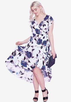Primrose Wrap dress by ellos®,