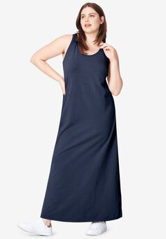 Tank Knit Maxi Dress by ellos®,