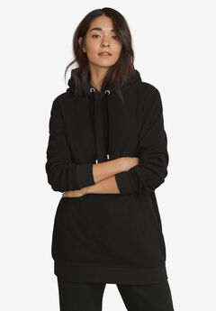 Hooded Fleece Lounge Tunic by ellos®,