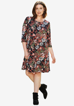 Madison A-Line Dress by ellos®,