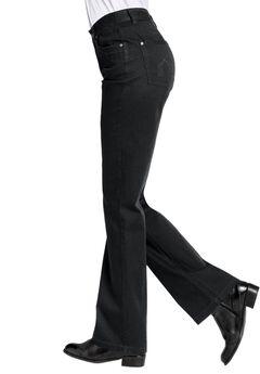 Bootcut 5-pocket Jeans by ellos®, BLACK DENIM