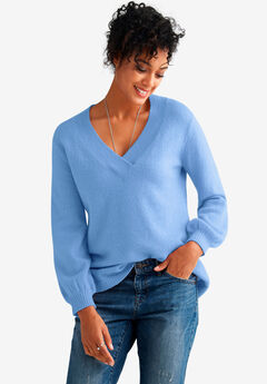 Oversized Pullover Sweater by ellos®, HORIZON BLUE