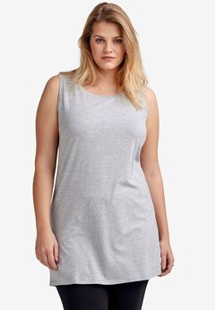 Long Sleeveless Tank by ellos®,