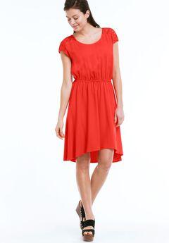 e6606f6e654 Lace Back Yoke Dress by ellos®