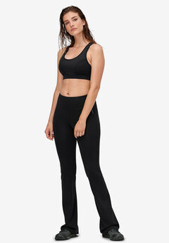 Bootcut Ponte Leggings by ellos®, BLACK