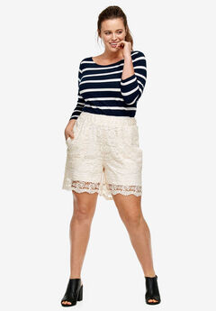 Crochet Lace Shorts,