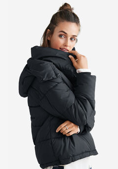 Short Hooded Puffer by ellos®,