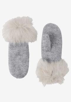 Rib Knit Mittens by ellos®,