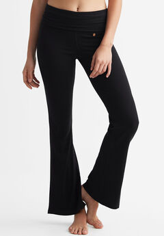 Rib Bootcut Leggings by ellos®,