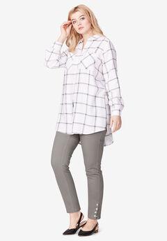 Two-Pocket Shirt Tunic by ellos®,
