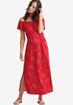 75aeb59d8d Off-the-Shoulder Maxi Dress by ellos®