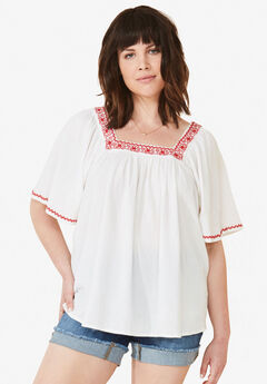 fae796a444f75 Plus Size Short Sleeve Shirts   Blouses for Women