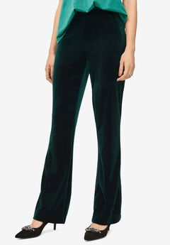 Velvet Wide Leg Pants by ellos®,