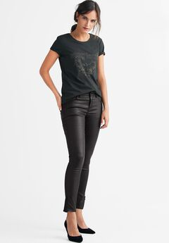 Skinny Coated Jeans by ellos®,