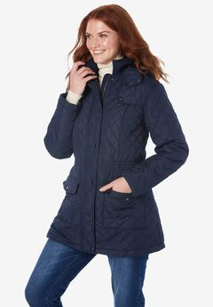 Plus Project Quilted Parka by ellos®,