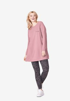 Love Tunic Sweatshirt,
