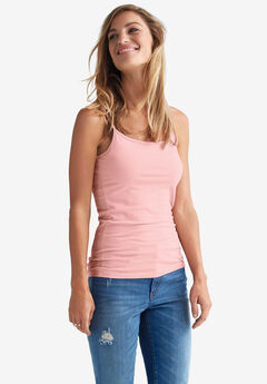 Knit Camisole by Ellos®, PALE BLUSH