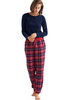 Plaid Flannel Sleep Pants by ellos®,