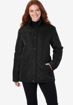 Plus Project Light Quilted Jacket,