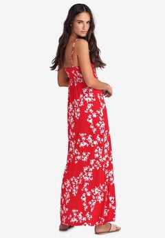 4b26fad166428 Knit Surplice Maxi Dress by ellos®