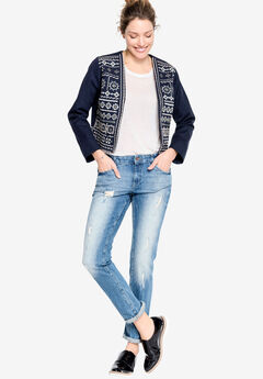 Stevie Embellished Jacket by ellos®,