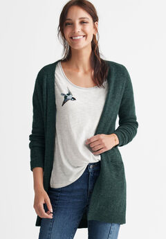 Open Cardigan Sweater by ellos®,