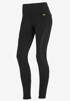 Mesh Inset Leggings by ellos®,