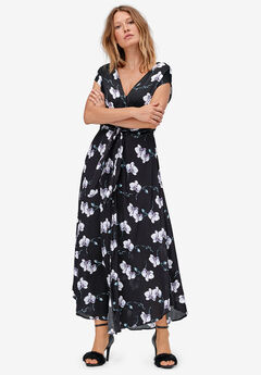 Tie-Front Maxi Dress by ellos®,