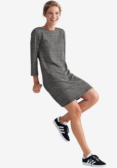 Back Zip Knit Dress by ellos®,