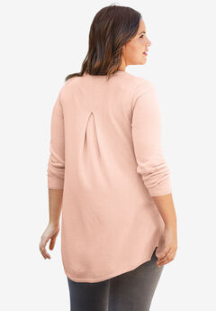 Pleat Back Sweater by ellos®,