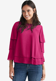 Tiered Blouse by ellos®,