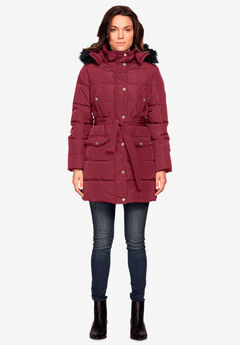 db61bcca027 Belted Puffer Coat by ellos®
