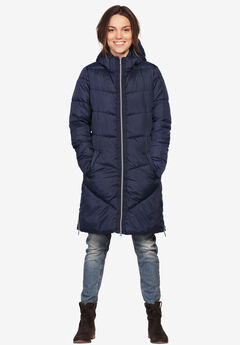3f9f8518cd2 Plus Size Quilted   Down Coats   Jackets for Women